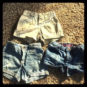 Girls 5T shorts bundle